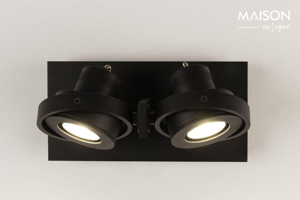 Foco Luci-2 DTW negro Zuiver