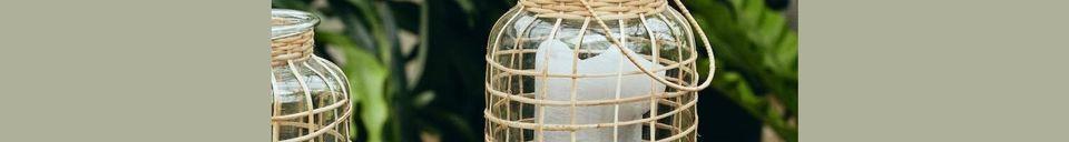Descriptivo Materiales  Gran Linterna Bambú