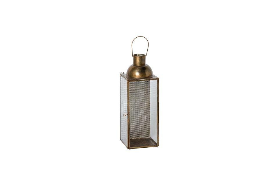Con esta linterna, la fuente de luz se convierte en una parte integral de la decoración de su hogar