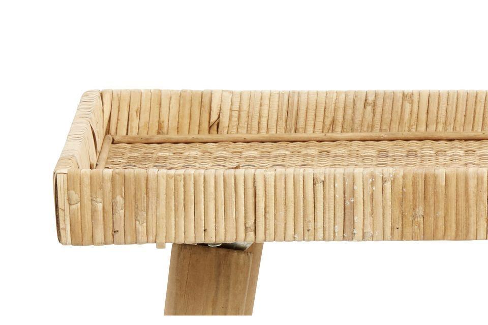 La marca de diseño Nordal te invita a descubrir su pequeña mesa de ratán Riva