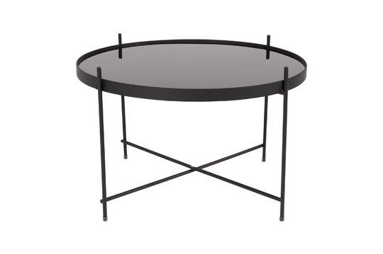 Gran mesa lateral de Cupido negro Clipped
