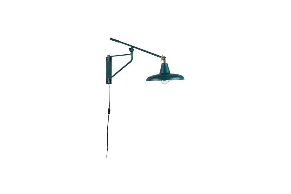 Difundiendo una luz suave, apreciará su brazo giratorio que le da una gran flexibilidad de uso