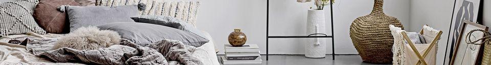Descriptivo Materiales  Jarrón decorativo de terracota Alban