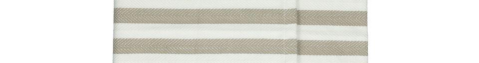 Descriptivo Materiales  Juego de 2 caminos de mesa Tizia