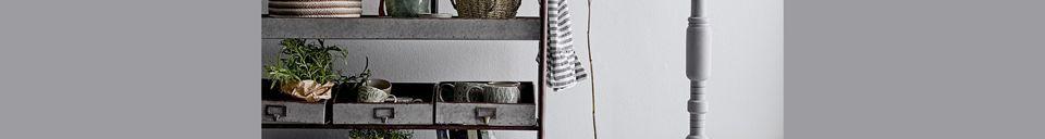 Descriptivo Materiales  Juego de 2 cestas Balignac Multicolor