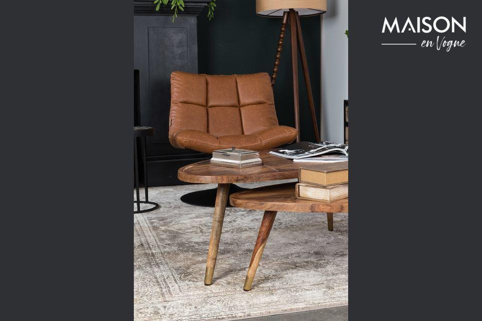 Mesas de café de madera para un estilo rústico