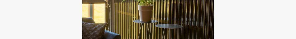 Descriptivo Materiales  Juego de 2 soportes de plantas Stalwart High