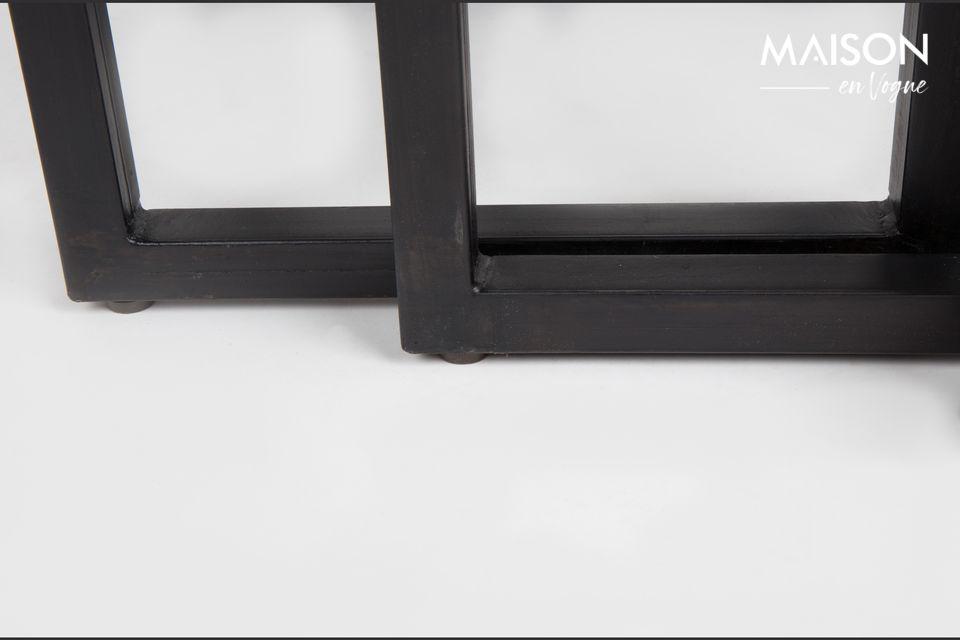 Ideal como mesas de centro o mesas auxiliares, este conjunto es por lo tanto versátil