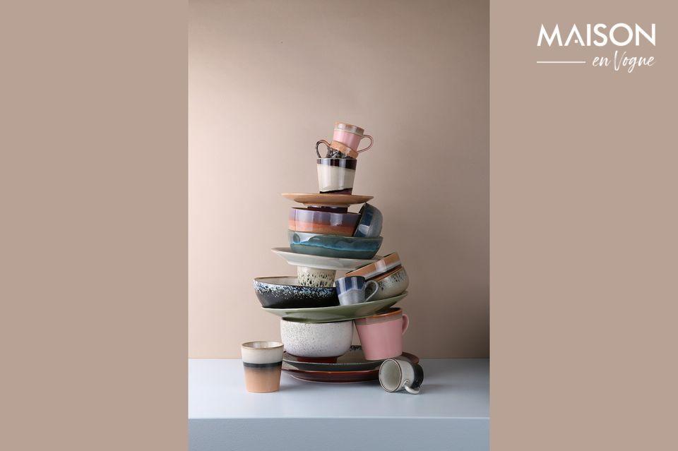 Tazones de cerámica para una mesa refinada