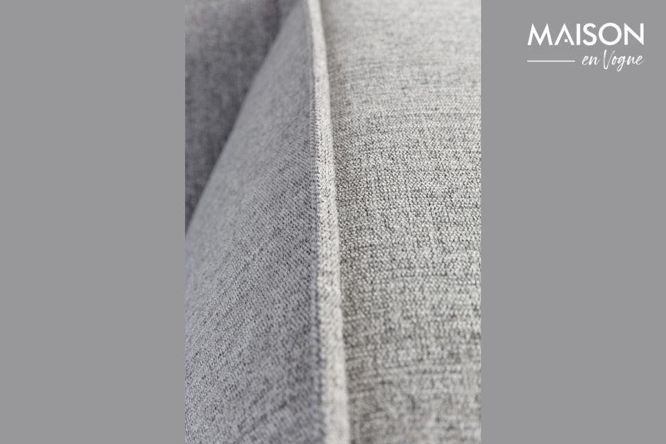 Es perfecto para crear una atmósfera acogedora gracias a su tejido texturizado sin descolgarse