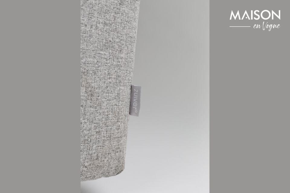 Sus líneas limpias y su color gris le dan un estilo minimalista
