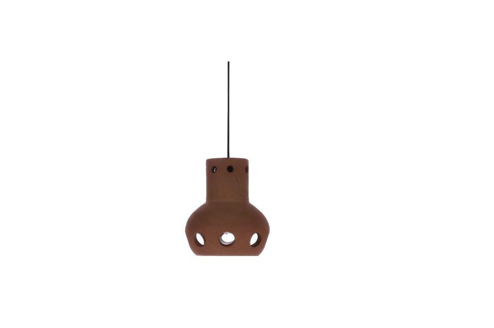 Lámpara colgante 3 Taix de terracota HK Living