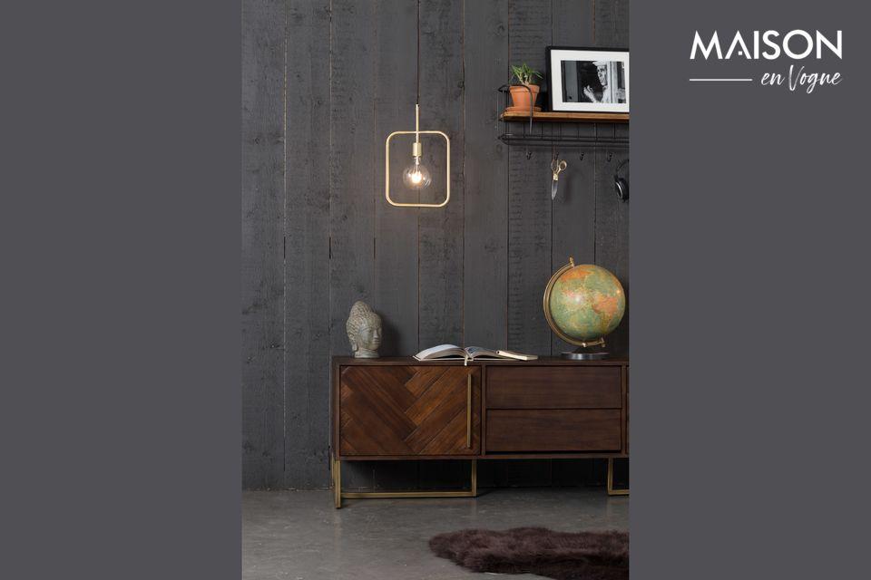 Dutchbone presenta un modelo de lámpara con un diseño vintage