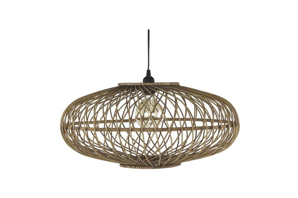 Lámpara colgante de bambú Tao Pomax