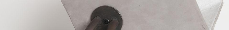 Descriptivo Materiales  Lámpara Concrete Up