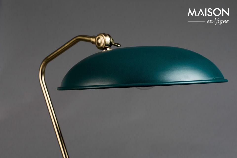 Lámpara de escritorio azul Liam - 3