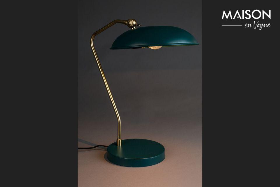 Lámpara de escritorio azul Liam - 4
