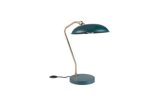 Lámpara de escritorio azul Liam Clipped
