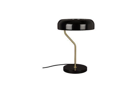 Lámpara de escritorio Eclipse negra Clipped