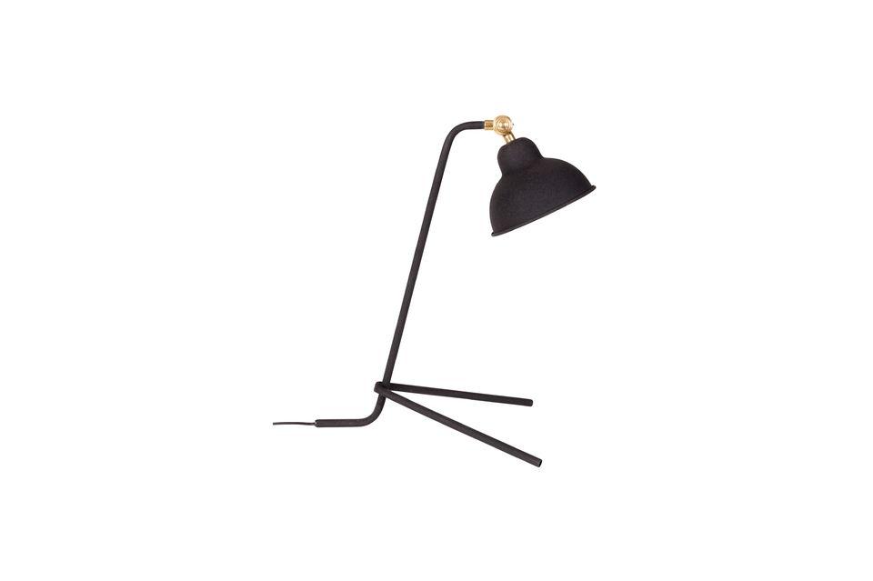 Lámpara de escritorio Jock negro - 6