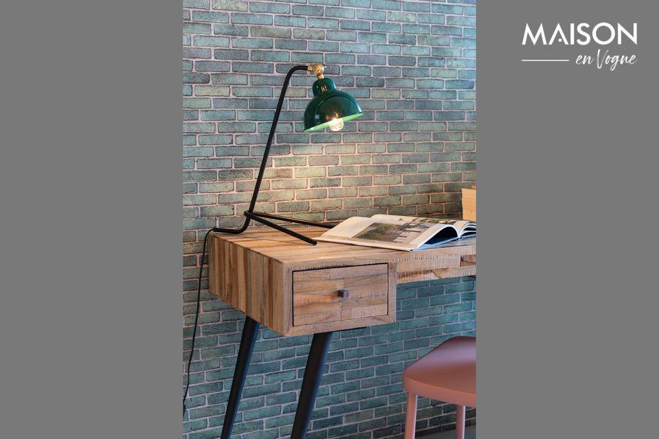Lámpara de escritorio Jock verde - 6