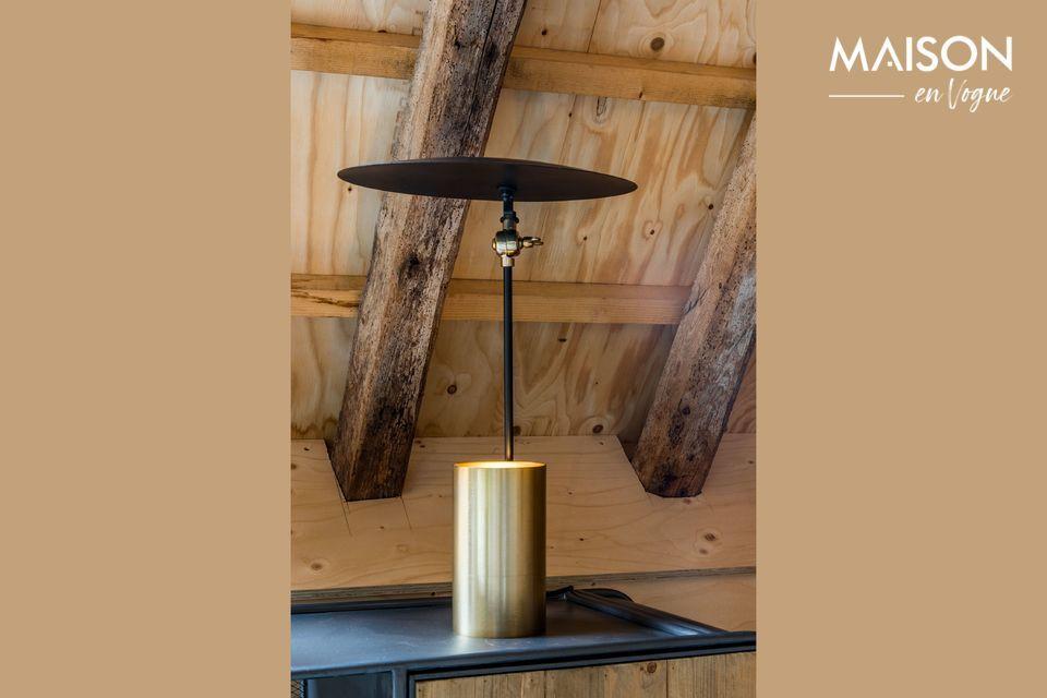 Una lámpara original con un diseño innovador