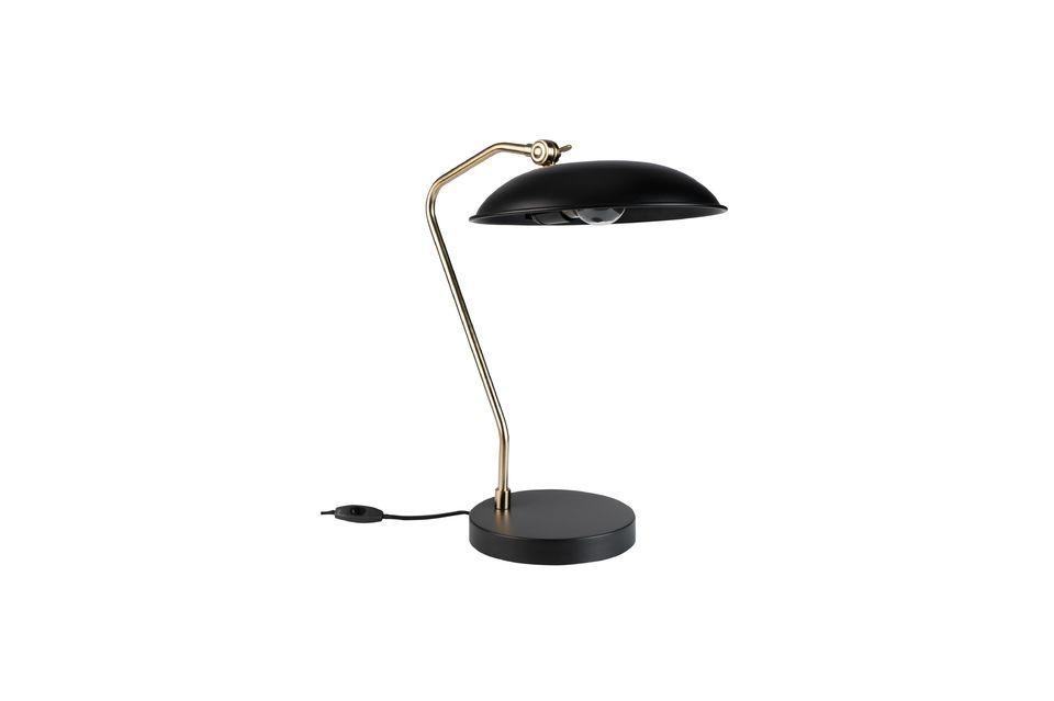 Lámpara de escritorio Liam negro Dutch Bone