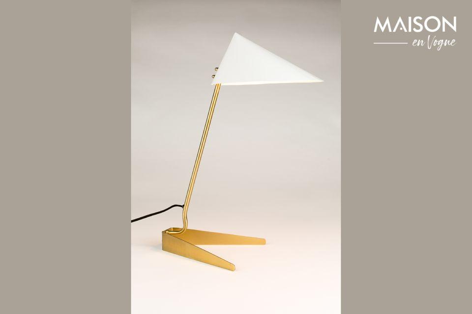 Una lámpara de origami