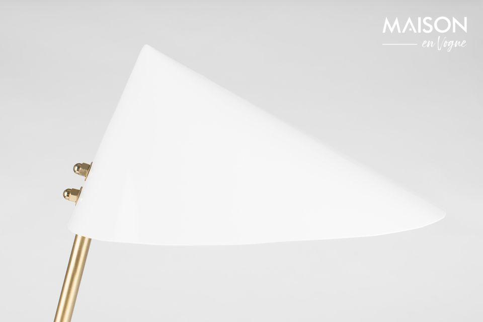 ¿Amante del diseño angular y geométrico? Déjese tentar por la lámpara de escritorio Lizzy