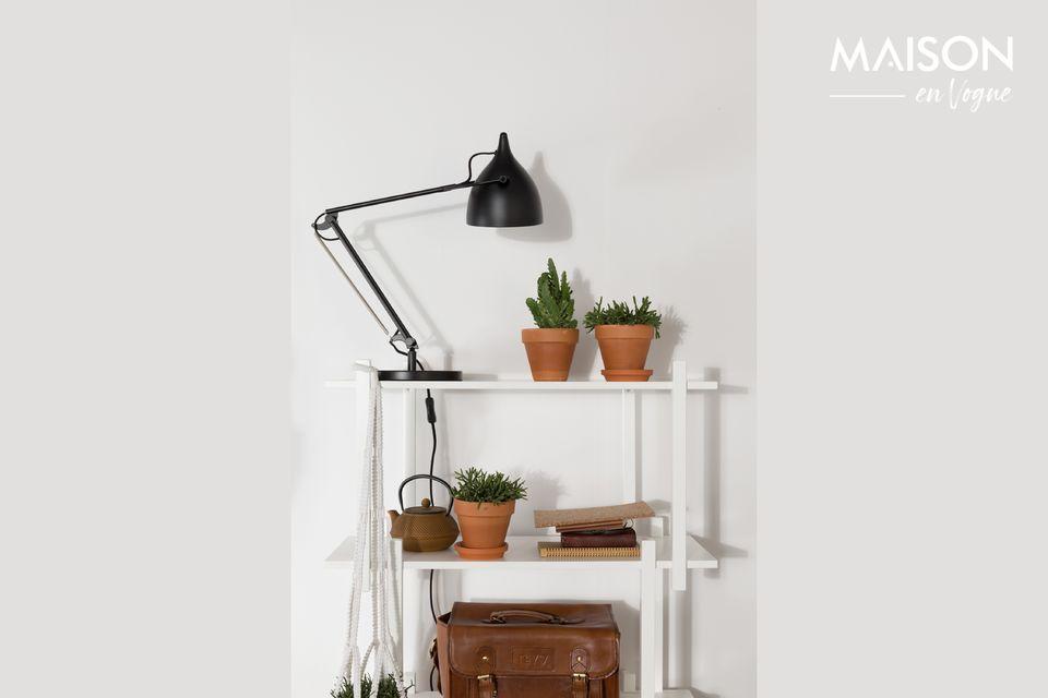 Lámpara de escritorio Reader negro mate Zuiver