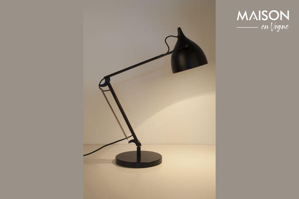 Lámpara de escritorio Reader negro mate - 5