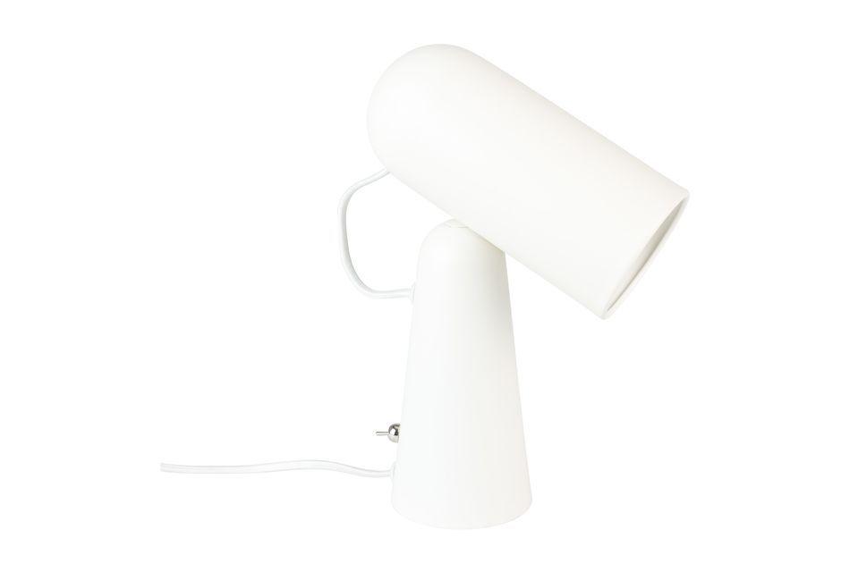 Lámpara de escritorio Vesper blanco - 5