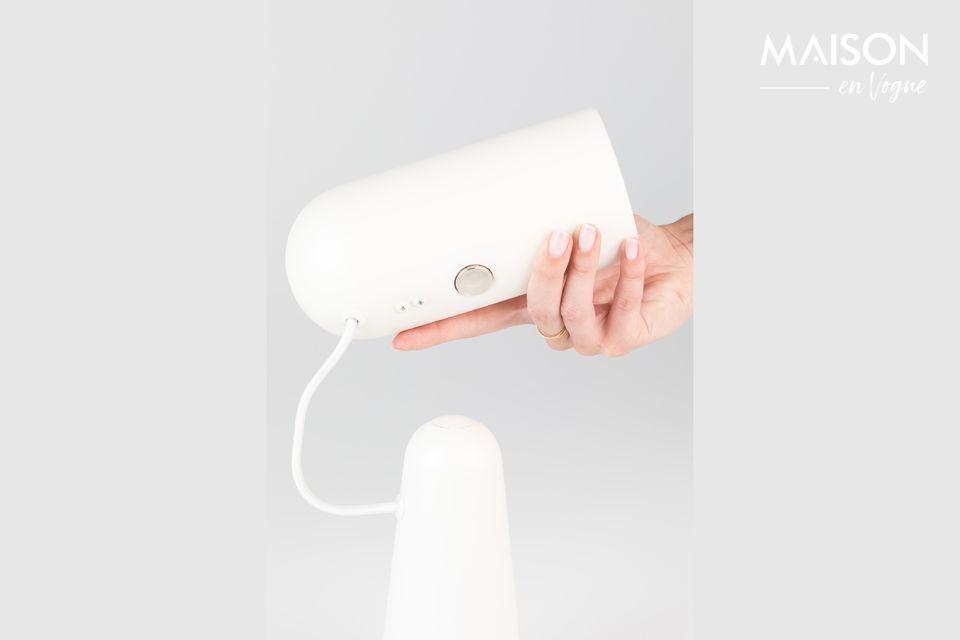 Una práctica lámpara contemporánea para trabajar