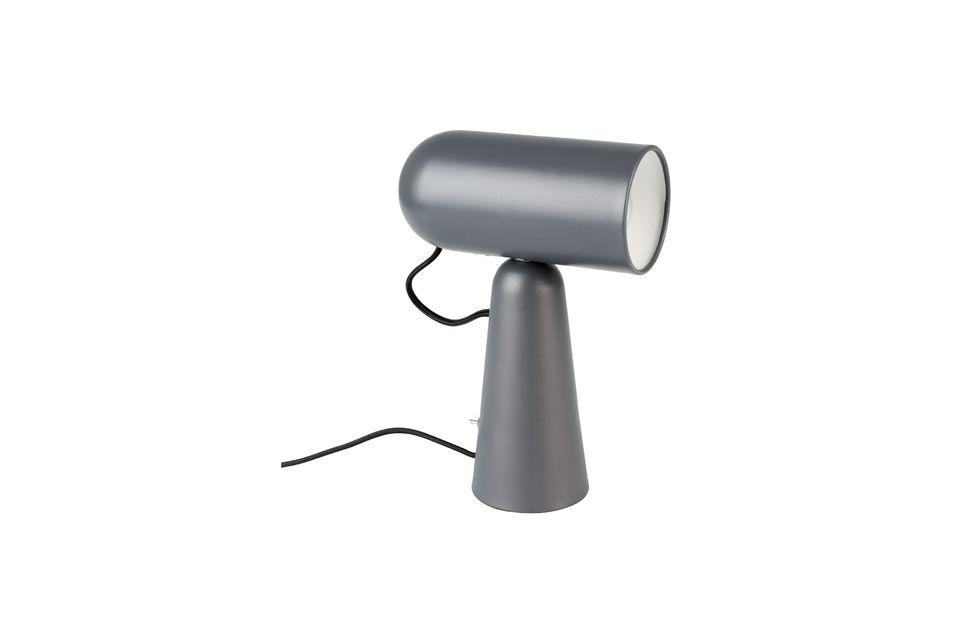 Lámpara de escritorio Vesper color gris oscuro - 5