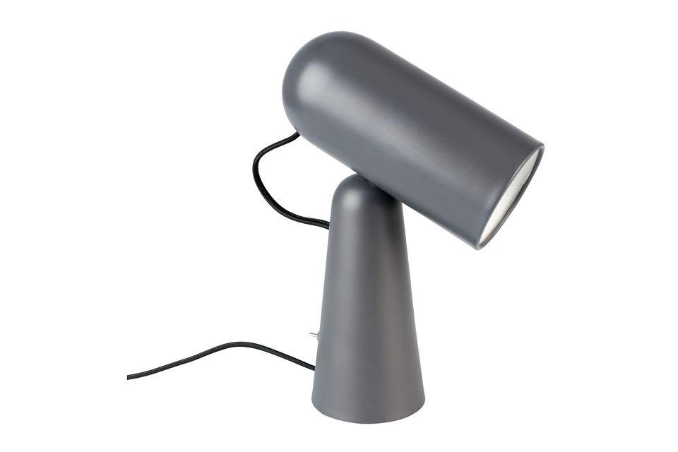 Lámpara de escritorio Vesper color gris oscuro - 6
