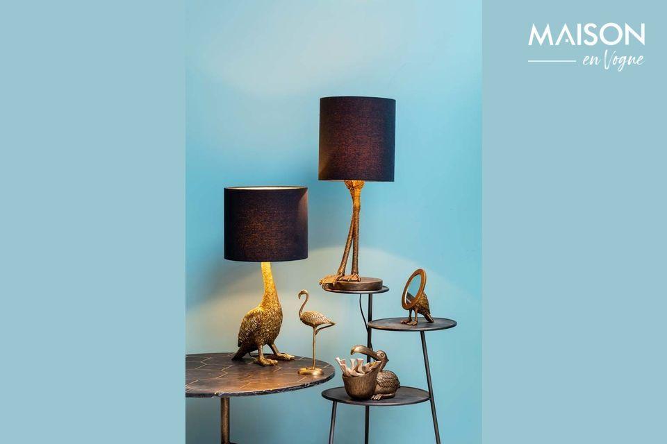 Una original y sofisticada lámpara