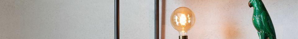 Descriptivo Materiales  Lámpara de mesa Aria