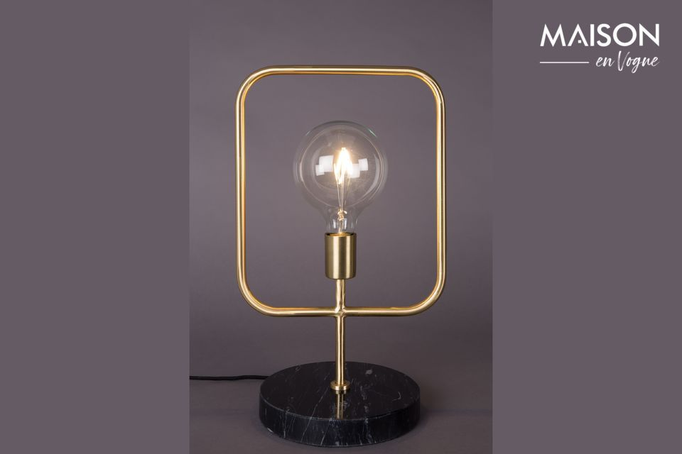 Lámpara de mesa Cubo Dutch Bone