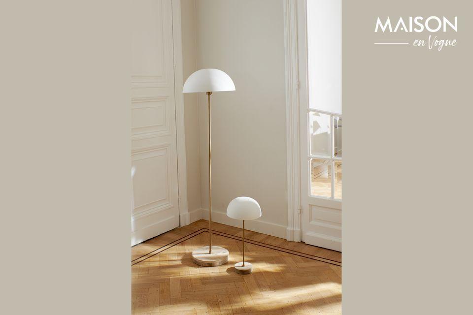 Lámpara de mesa de metal Suzette Pomax