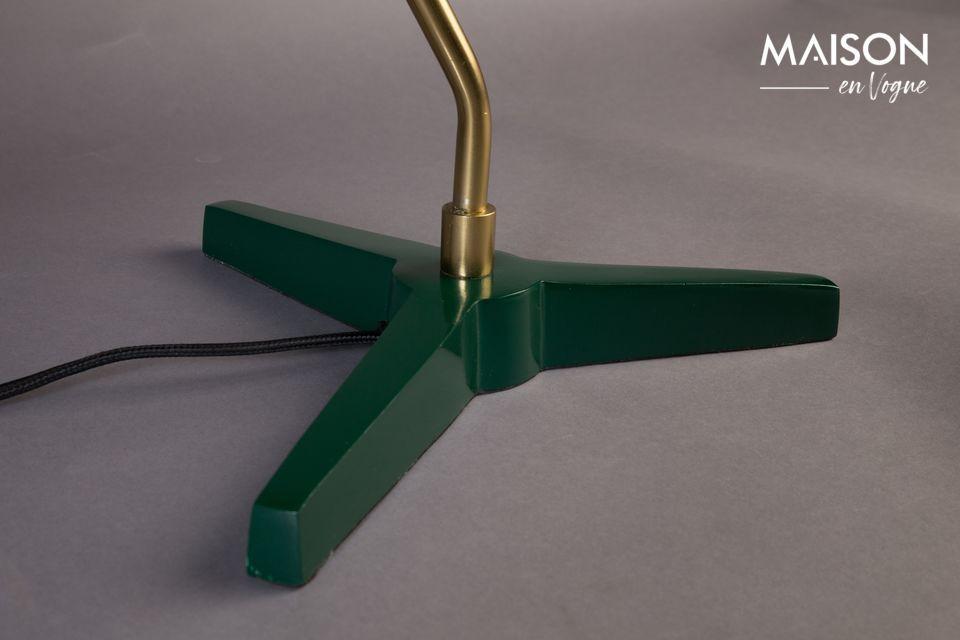 En total, aquí hay una lámpara de 52 cm de altura que nunca pasa de moda