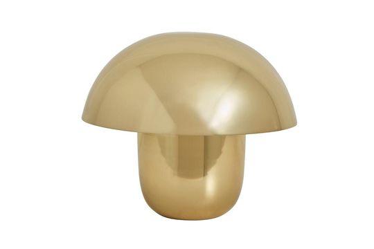 Lámpara de mesa Focus de metal dorado