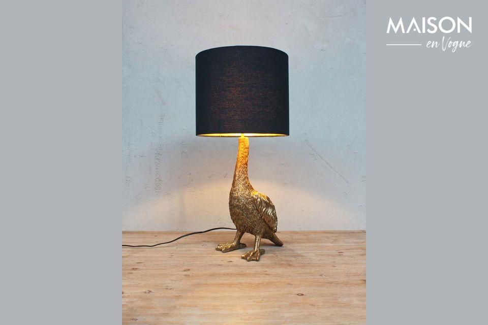 Una luz original para una decoración lúdica y chic