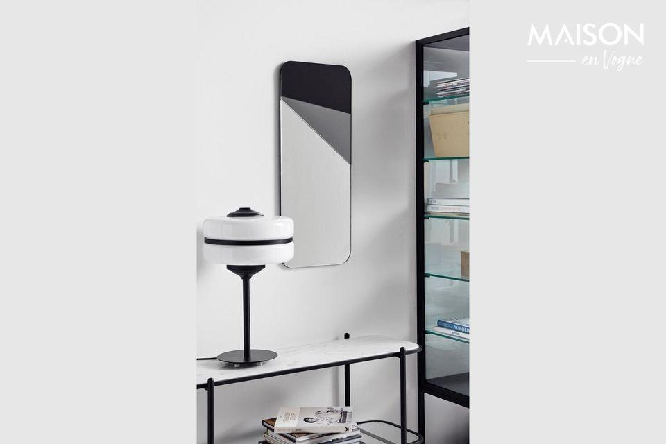 Lámpara de mesa Iconos en vidrio y hierro Nordal