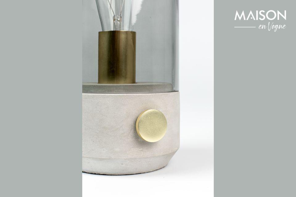 Un diseño y concepción verdaderamente únicos para esta lámpara de mesa