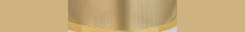 Descriptivo Materiales  Lámpara de mesa Mai S de latón
