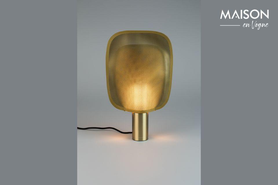 Lámpara de mesa Mai S de latón Zuiver