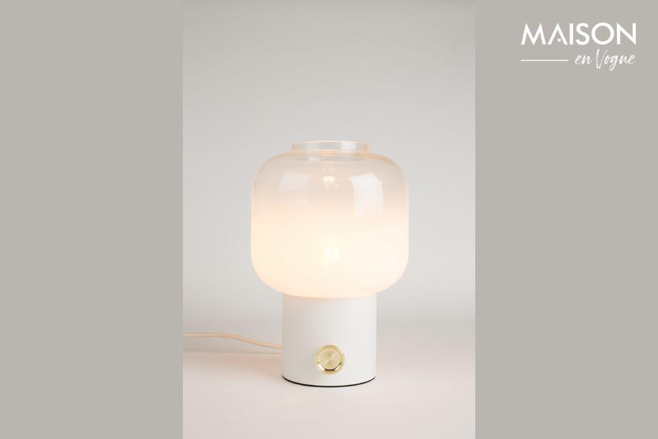 Lámpara de mesa Moody blanca Zuiver