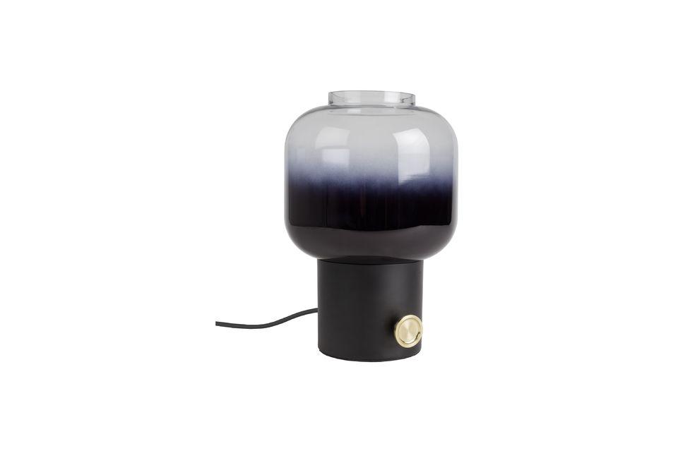 Lámpara de mesa Moody negro Zuiver