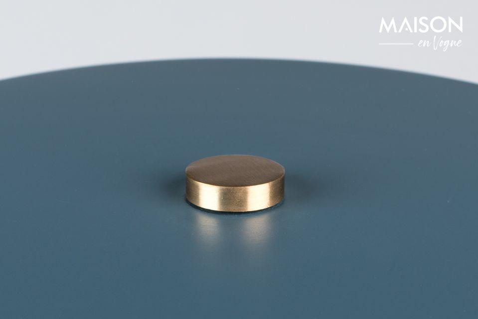 Lámpara de mesa de colores de hierro lacado