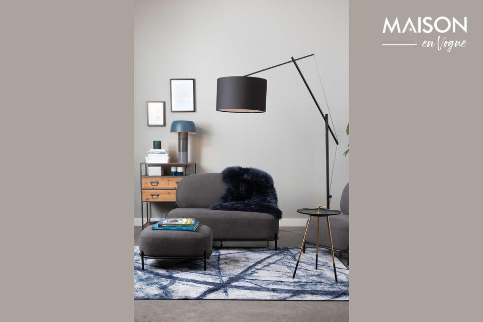 Lámpara de mesa Muras Tricolor azul - 5